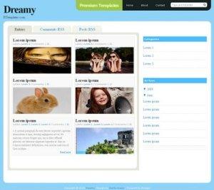 Dreamy Blogger Template